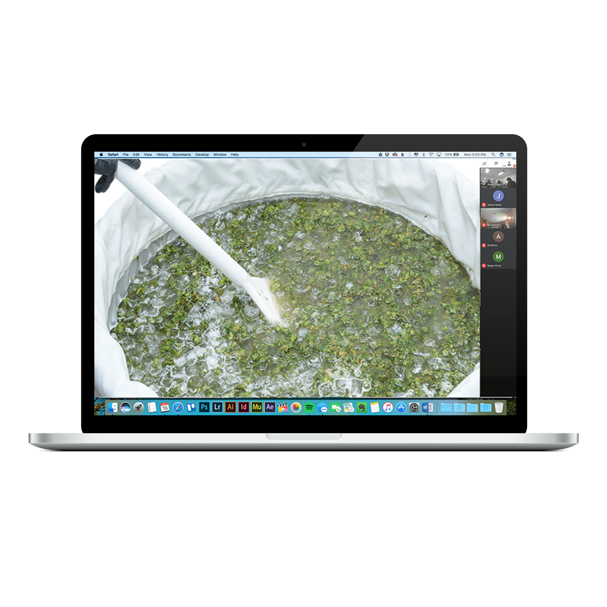 cannabis extraction virtual training icon
